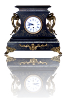antique ornate mantel clock